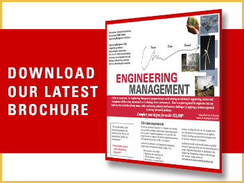 Engineering Management Brochure