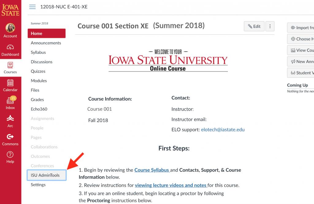 ISU AdminTools