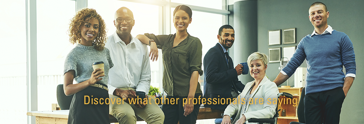Discover what other professionals are saying photo