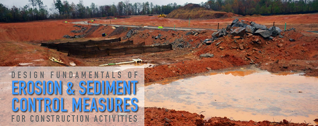 Design Fundamentals of Erosion and Sediment Control Measures for Construction Activities Course Banner